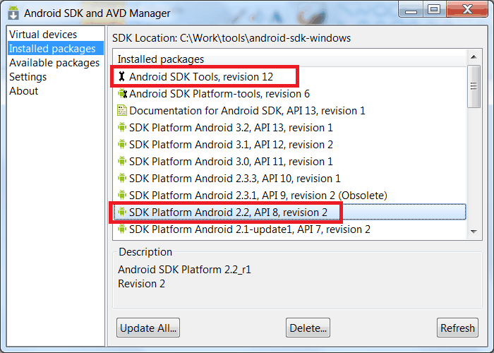 Using Android binary package with Eclipse — OpenCV v2 4 0(beta