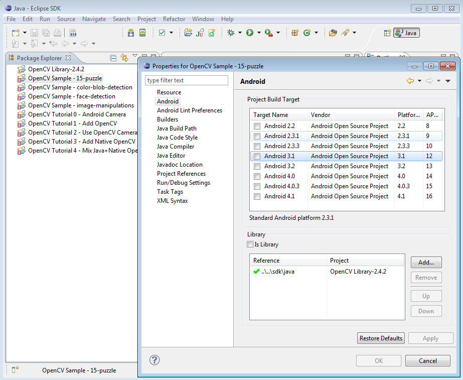 OpenCV4Android SDK — OpenCV v2 4 3 documentation