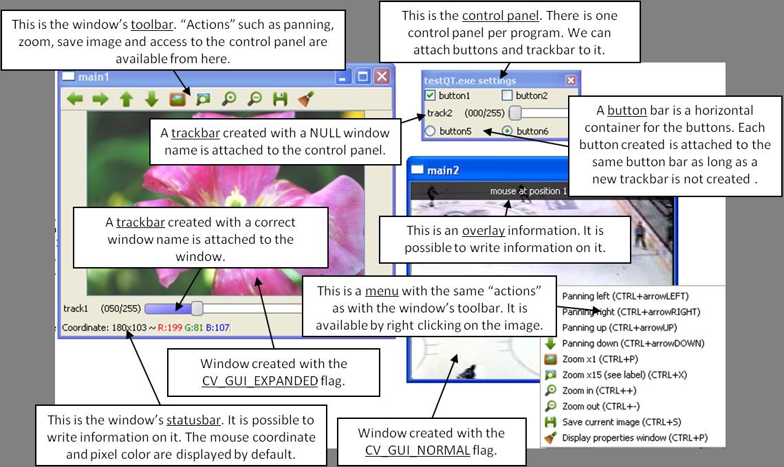 Qt New Functions — OpenCV 2 4 13 7 documentation