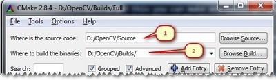 Installation in Windows — OpenCV 3 0 0-dev documentation