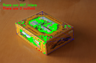 OpenCV: Real Time pose estimation of a textured object