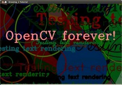 opencv write text on image