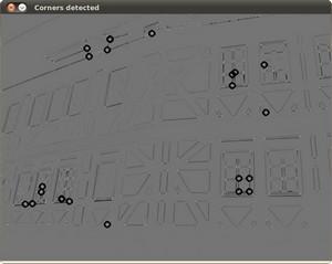 OpenCV: Harris corner detector